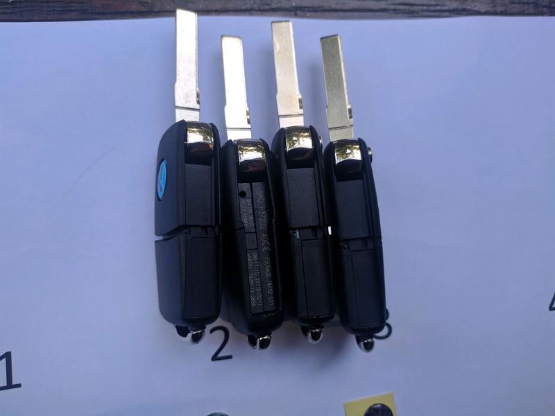 Ключ заготовка, корпус для Skoda, VW, Audi - Фото 4