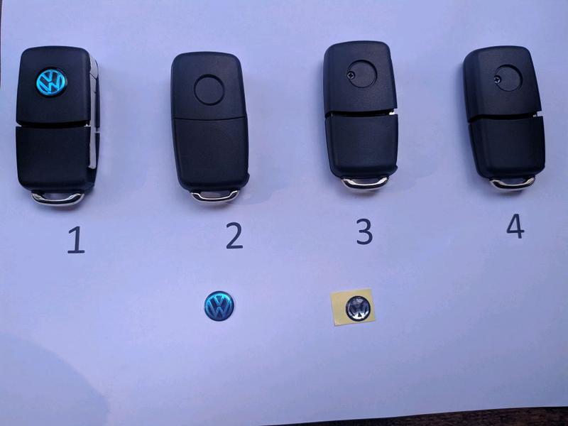 Ключ заготовка, корпус для Skoda, VW, Audi - Фото 3