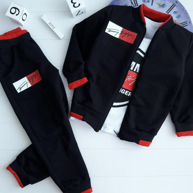 Костюмчик тройка(кофта+футболка+штаны)