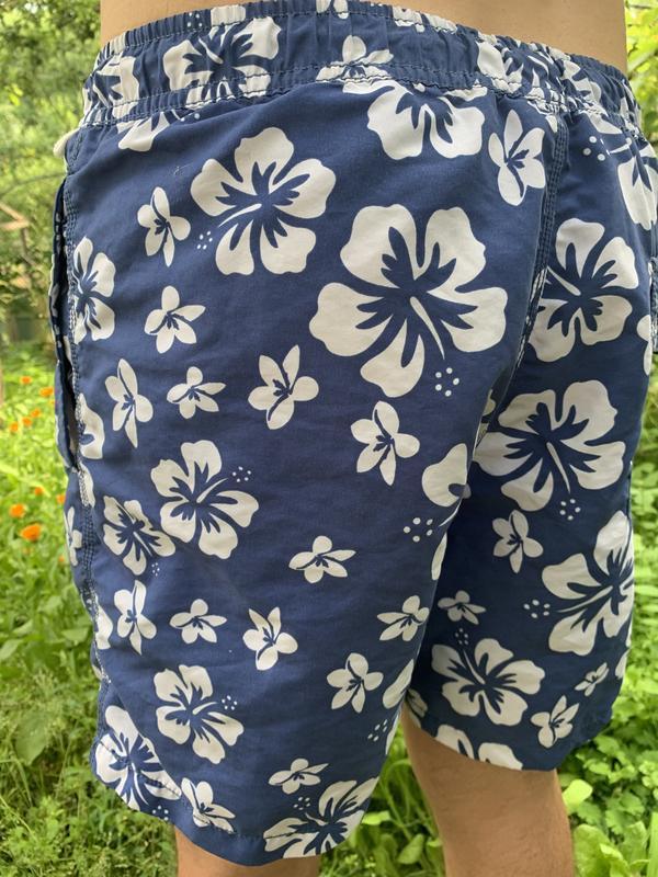 Мужские шорты пляжные плавки - Фото 4