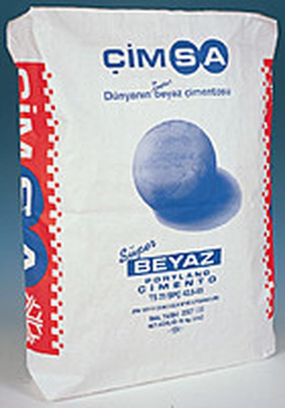 Цемент белый Cimsa (25 кг)