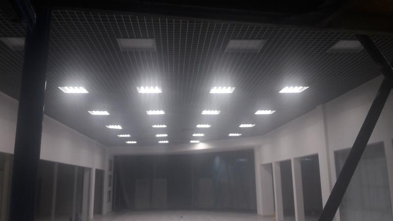 монтаж Армстронг Грильято Реечные подвесные потолки