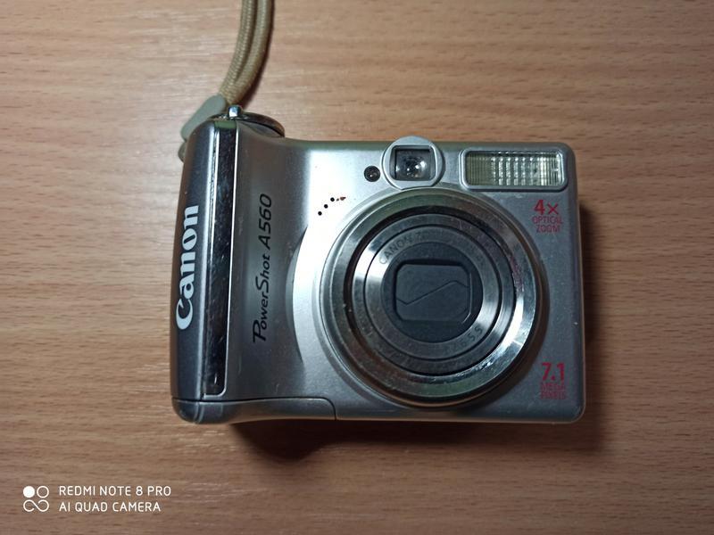 Фотоапарат canon a560 - Фото 3