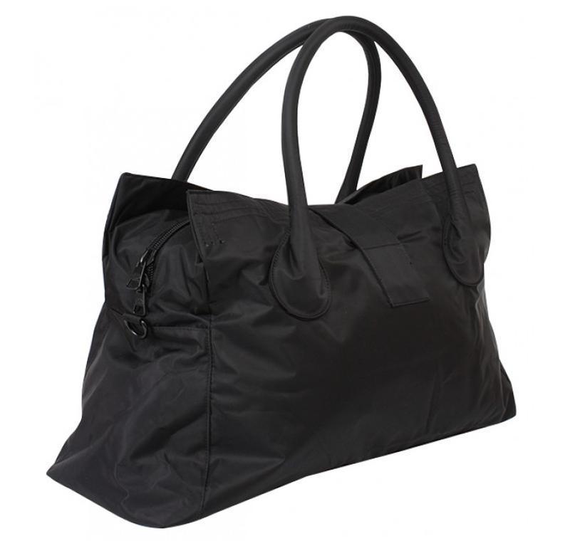 Дорожная сумка - саквояж epol 23601 большая черная, расцветки - Фото 3