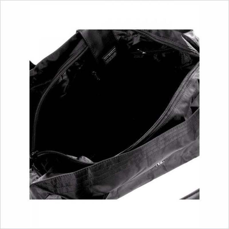 Дорожная сумка - саквояж epol 23601 большая черная, расцветки - Фото 4