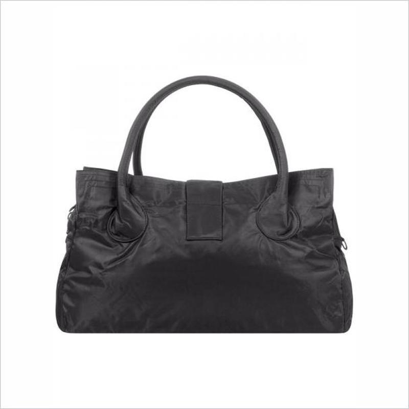 Дорожная сумка - саквояж epol 23601 большая черная, расцветки - Фото 5