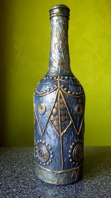 Декоративная бутылка - Фото 2