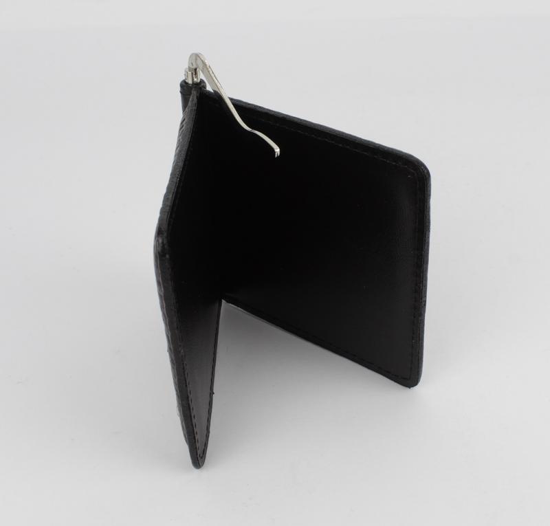 Купюрник-зажим для денег магнитный кожаный desisan 208-19 кофе - Фото 5