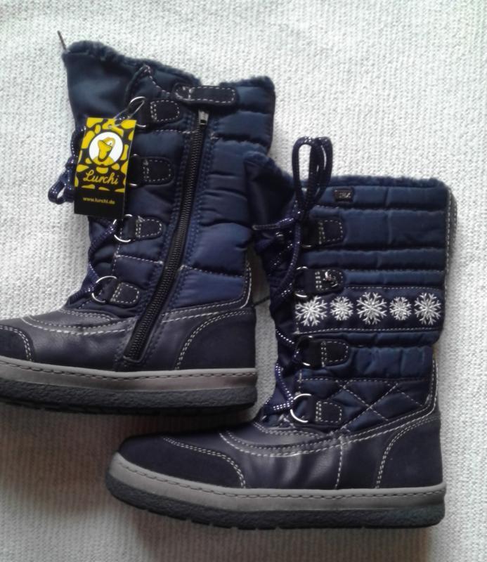 Зимние сапожки lurchi– серия детской обуви бренда salamander, ... - Фото 3