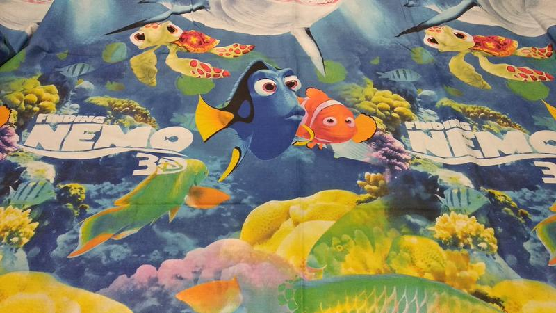 Комплект постельного белья рыбка немо - Фото 3
