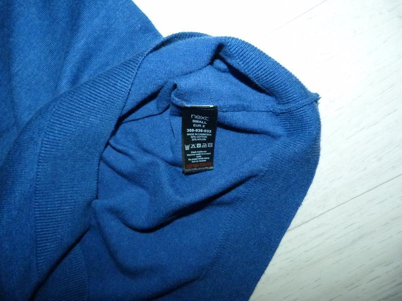 Тонкий свитер next размер s - Фото 4