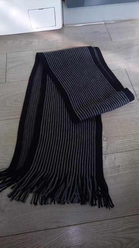 Двосторонній чоловічий шарф 99грн