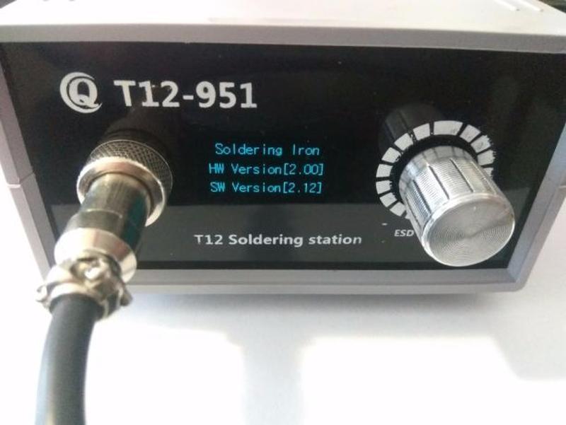 T12 STM32 паяльная станция Ksger (Hakko) - Фото 2