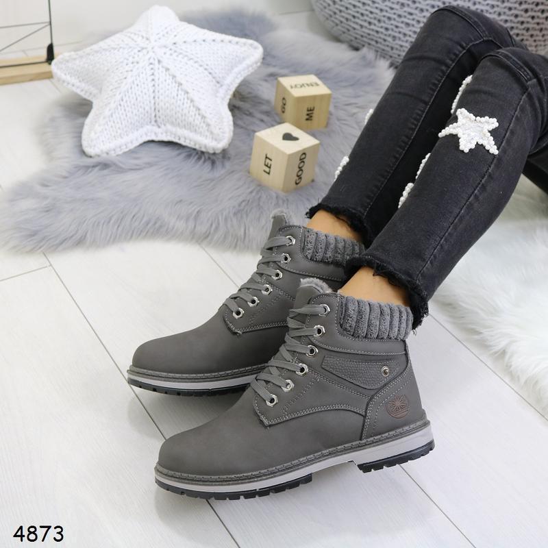Зимние женские ботинки - Фото 3