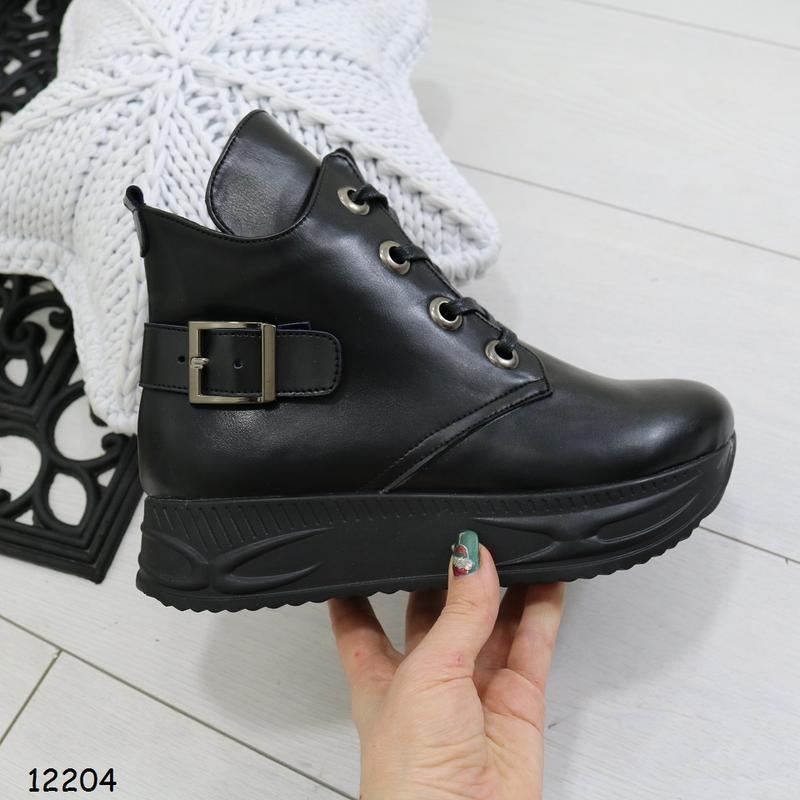 Зимние женские ботинки - Фото 2