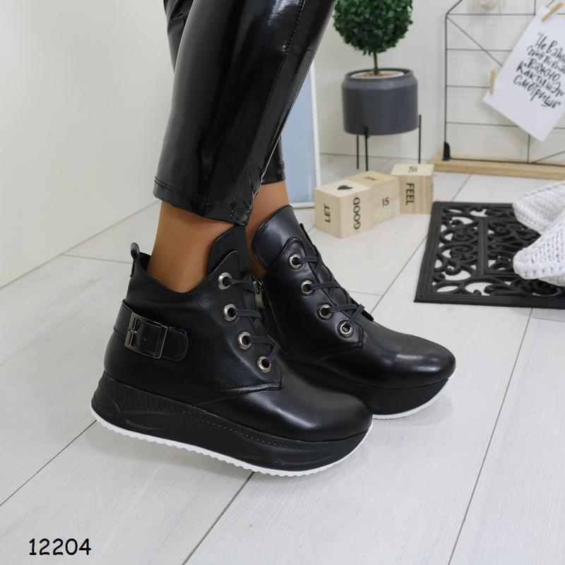 Зимние женские ботинки - Фото 4