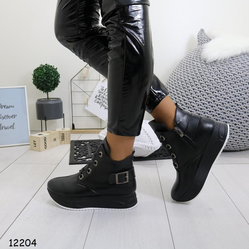 Зимние женские ботинки - Фото 5