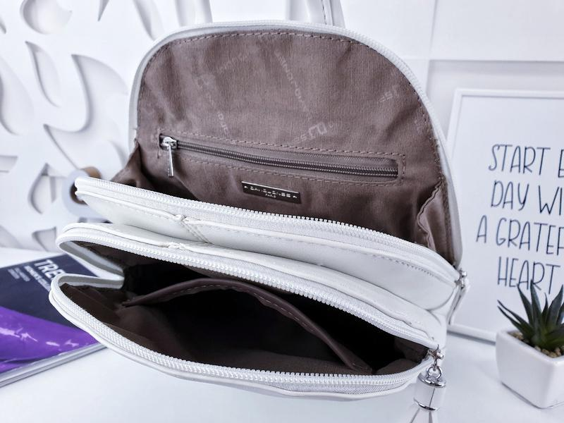 Рюкзак белый - Фото 3