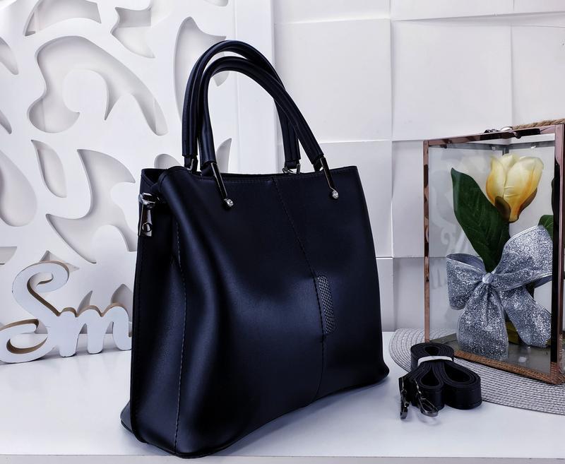 Классическая сумка женская - Фото 2
