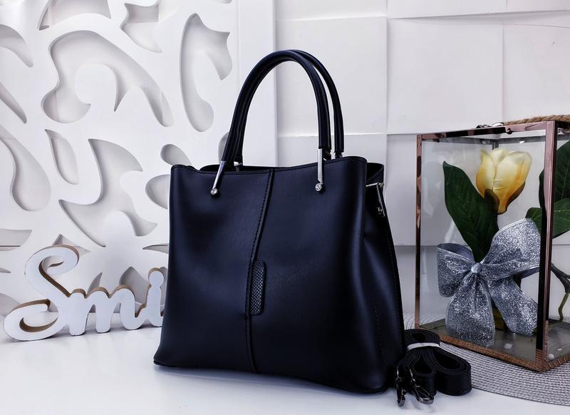 Классическая сумка женская - Фото 3