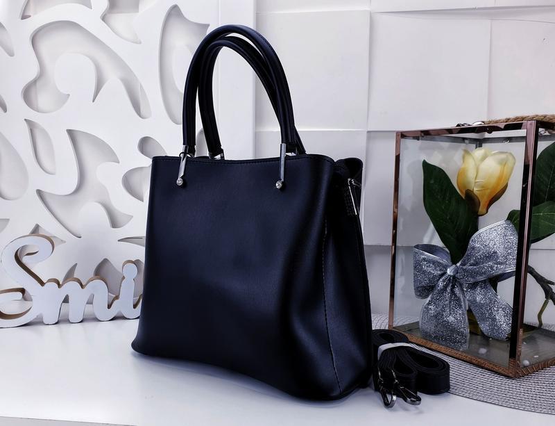 Классическая сумка женская - Фото 4