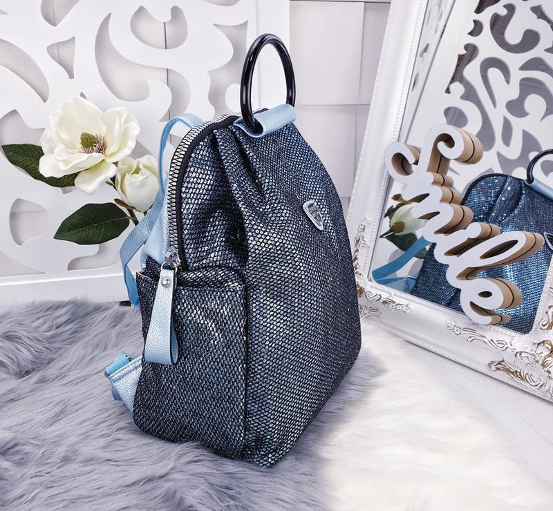 Сумка рюкзак женский - Фото 3