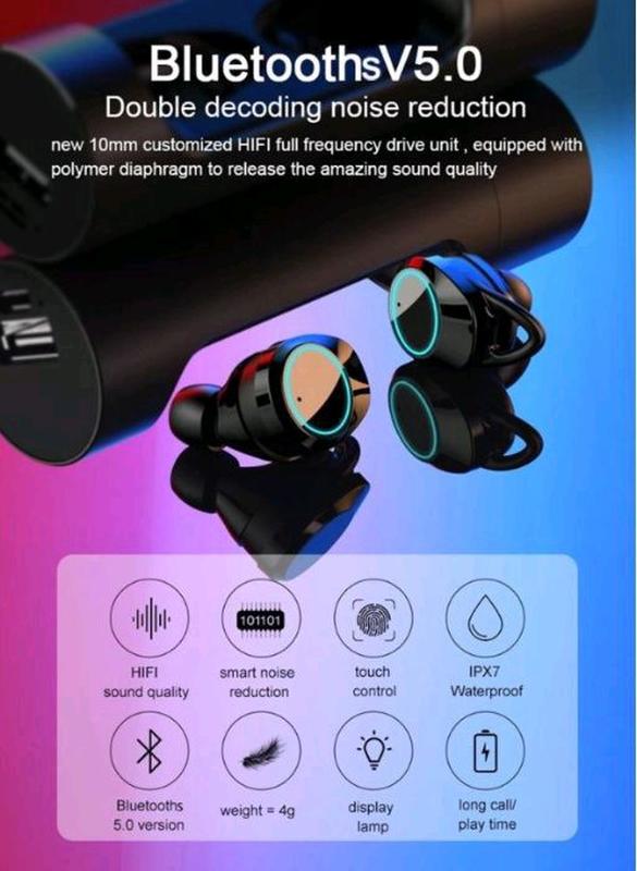 Беспроводные Bluetooth наушники TWS x8 - Фото 3
