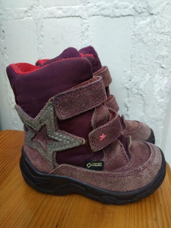 Зимние термо ботинки ессо 23р. сапоги ecco