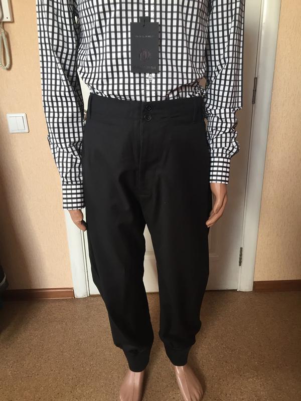 Мужские стильные черные брюки  antony morato код А 0019