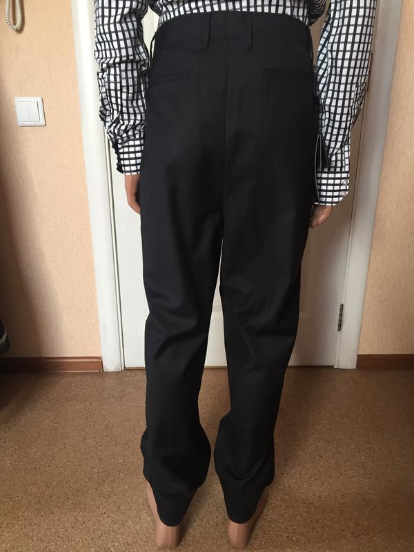 Мужские стильные черные брюки  antony morato код А 0019 - Фото 3