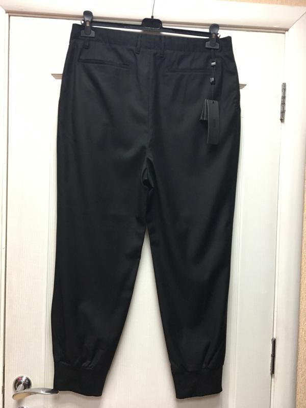 Мужские стильные черные брюки  antony morato код А 0019 - Фото 4