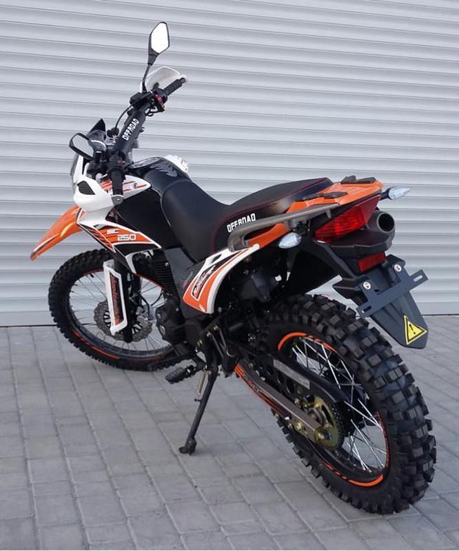 Новый мотоцикл эндуро MOTOLEADER-250! Акция!!! - Фото 4