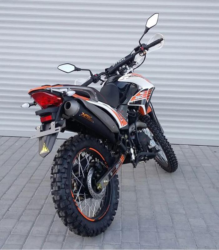 Новый мотоцикл эндуро MOTOLEADER-250! Акция!!! - Фото 5
