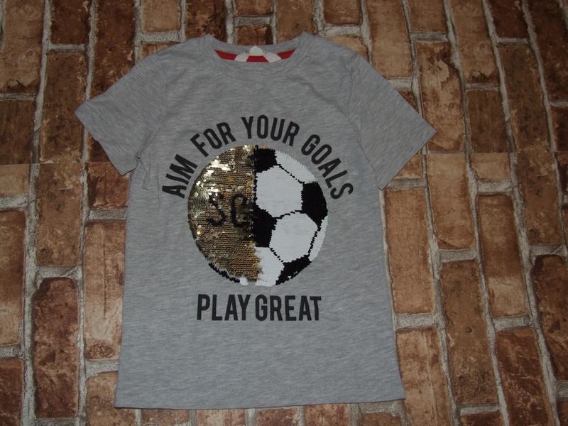 Футболка мальчику 6 - 8 лет