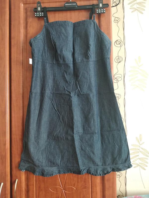 Літнє джинсове плаття