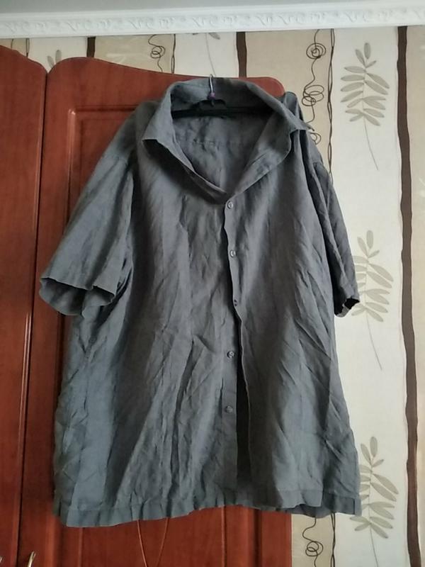 Фірмена льяна сорочка