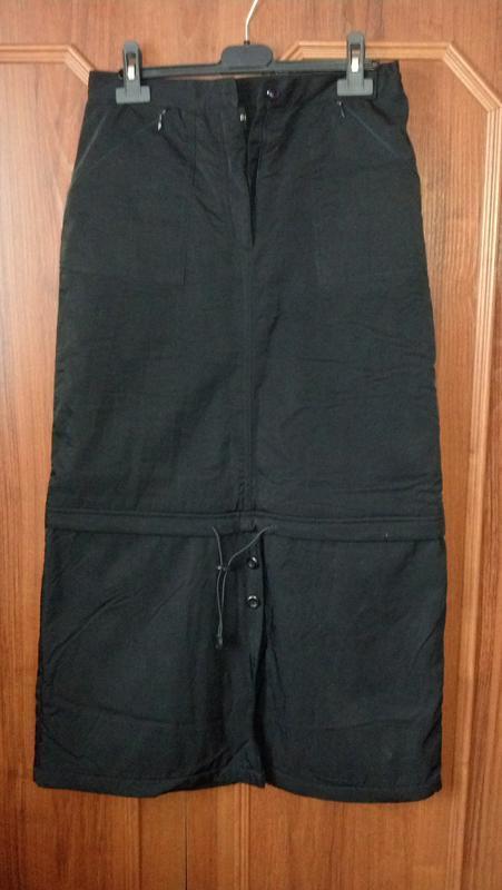 Демисизонная утепленная длинная юбка(возможен обмен)