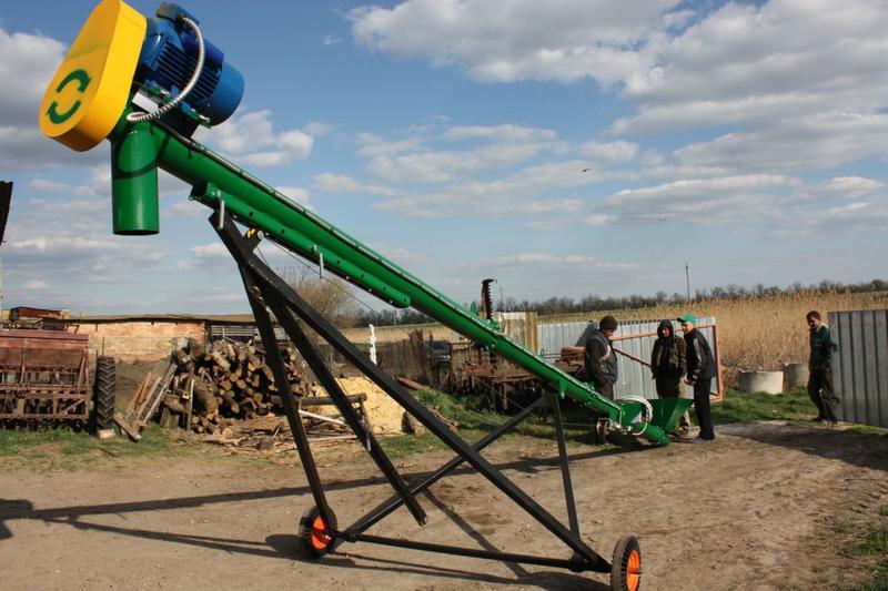 транспортер шнековый зерновой