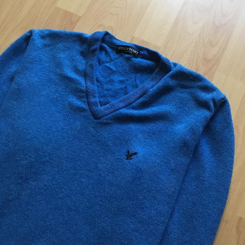 Чоловічий светр lyle&scott - Фото 2