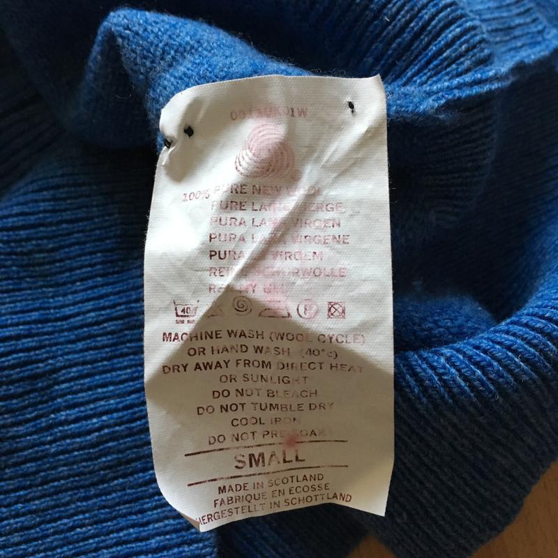 Чоловічий светр lyle&scott - Фото 4
