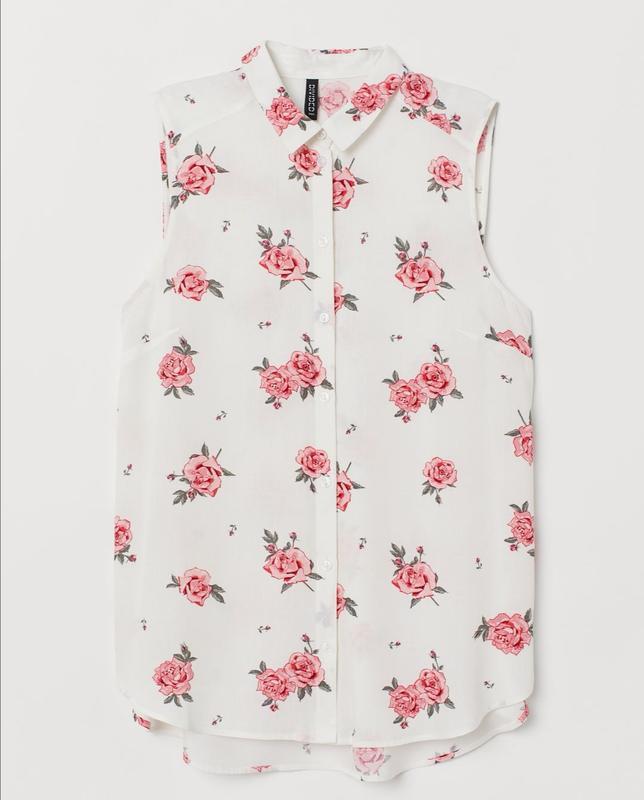 Безрукавка блузка hm h&m