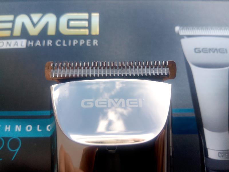 Беспроводная\аккумуляторная машинка для стрижки Gemei GM-829 - Фото 5