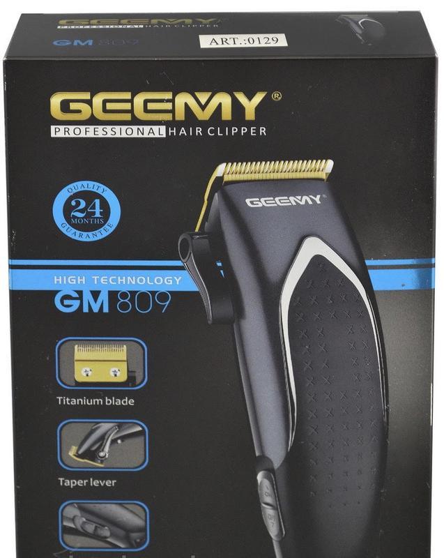 Машинка для стрижки волос GM 809 - Фото 6