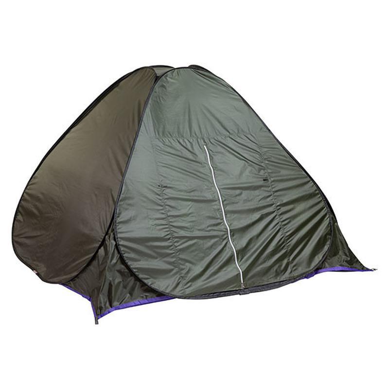 Палатка летняя автомат туристическая походная трехместная 2х2х1.3 - Фото 4