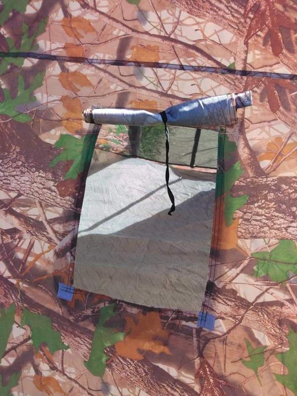 Палатка автомат зимняя летняя четырёхместная 2.5х2.5х1.8 м - Фото 2