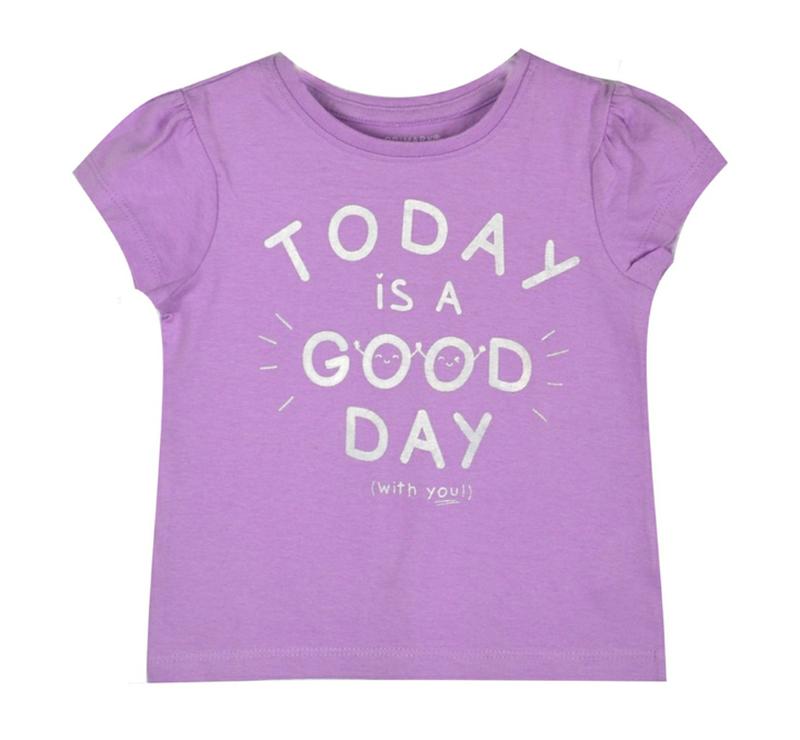 Детская футболка Сегодня хороший день Primark, 1-2 года, новая