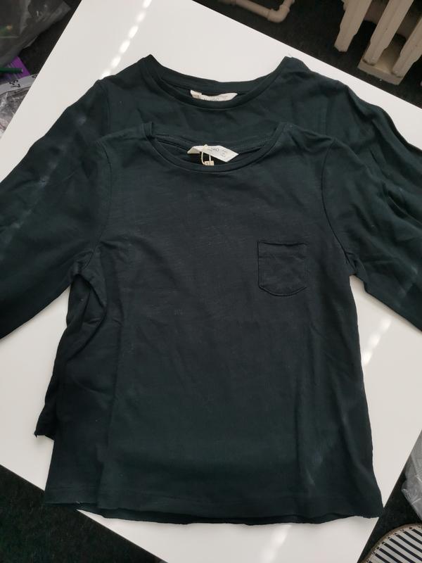 Кофточка футболка mango лонгслив - Фото 2