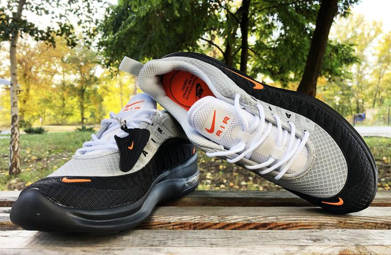 Кроссовки Nike Airmax черно-серые - Фото 2