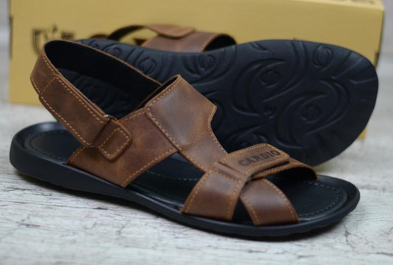 Кожаные сандалии трансформеры 40-45 - Фото 5