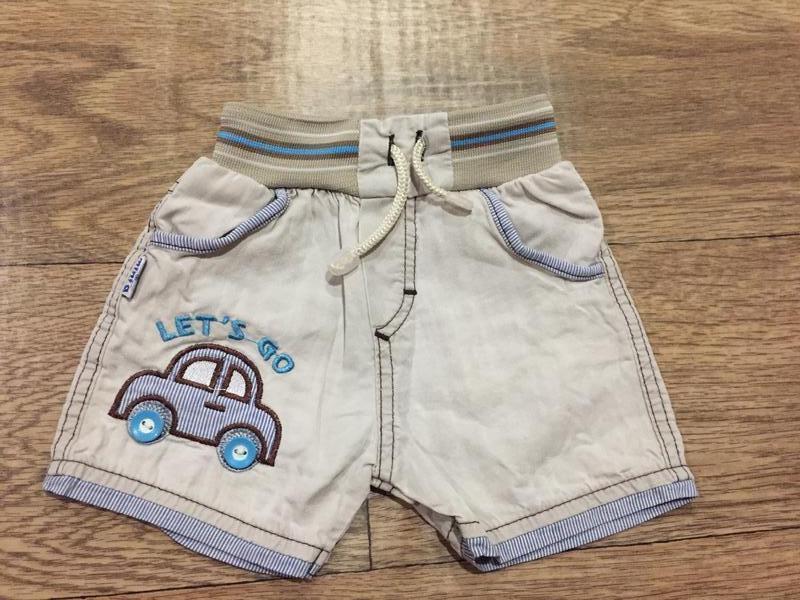Крутые шорты  от minia,на 1-2 года